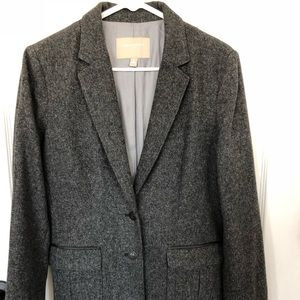 Banana Republic blazer/jacket Charcoal size 10